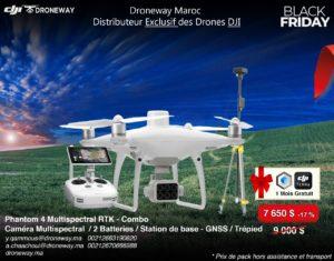 drone dji phantom 4 multispectrale